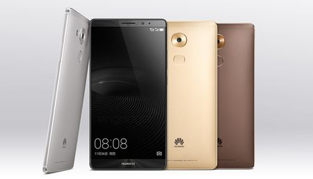 Huawei chinh thuc trinh lang phablet Mate 8 - Anh 2