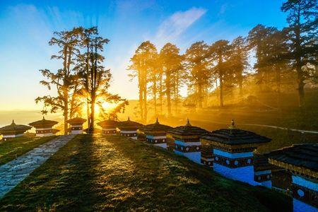 Nhung khoanh khac tuyet dep o xu so co tich Bhutan - Anh 2