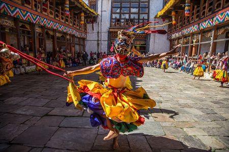 Nhung khoanh khac tuyet dep o xu so co tich Bhutan - Anh 6