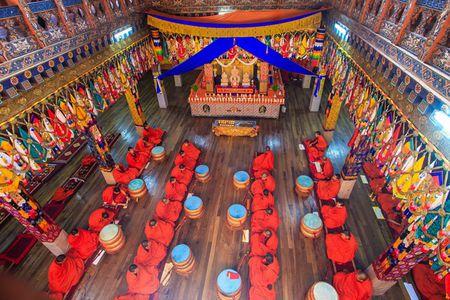 Nhung khoanh khac tuyet dep o xu so co tich Bhutan - Anh 7