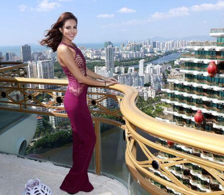 Lan Khue do dang nguoi dep Hoa hau The gioi 2015 - Anh 5