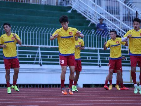 TRUC TIEP, U21 Viet Nam 0-0 U21 HAGL: Dep tinh than vi chien thang (Hiep 1) - Anh 2