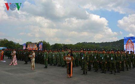 Be mac giai ban sung quan dung cac nuoc ASEAN (AARM-25) - Anh 1