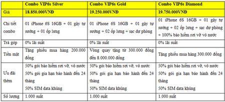 The hien dang cap xung tam iPhone 6s cung goi san pham tien phong vip 6s. - Anh 2