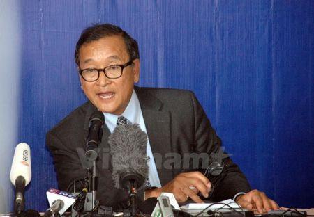 Toa an trieu tap ong Sam Rainsy vi xuc pham Chu tich Quoc hoi - Anh 1