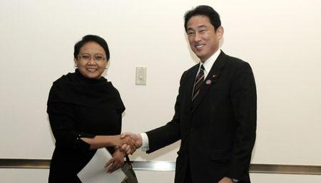"""Nhat Ban-Indonesia du dinh to chuc dam phan an ninh """"2+2"""" - Anh 1"""
