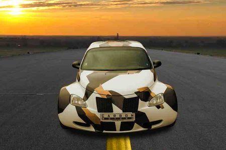 "Chrysler PT Cruiser Widebody doc dao voi mau son ""bo sua"" - Anh 2"