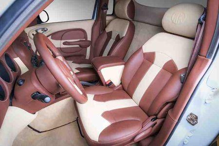 "Chrysler PT Cruiser Widebody doc dao voi mau son ""bo sua"" - Anh 5"