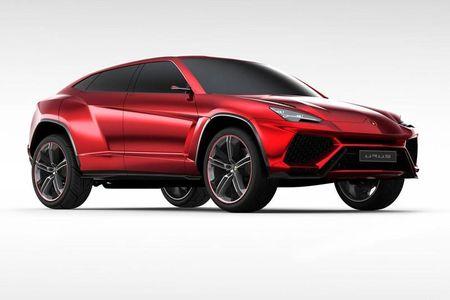 Lamborghini Urus crossover se dung dong co Twin Turbo V8 doc quyen - Anh 1
