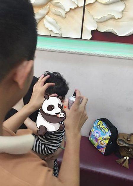 Ngam con trai dang yeu cua Hoa hau Diem Huong - Anh 9
