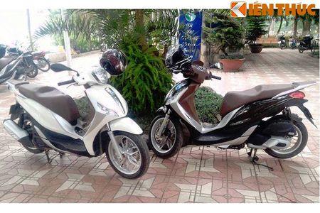 Scooter cao cap Piaggio Medley bat ngo lo dien tai Ha Noi - Anh 1