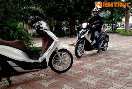 Scooter cao cap Piaggio Medley bat ngo lo dien tai Ha Noi - Anh 2
