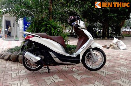 Scooter cao cap Piaggio Medley bat ngo lo dien tai Ha Noi - Anh 6
