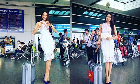 Sao Viet chuc Pham Huong thi tot o Miss Universe 2015 - Anh 1