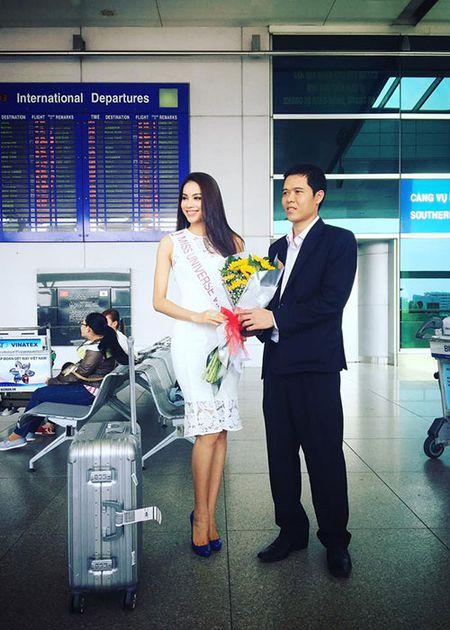 Sao Viet chuc Pham Huong thi tot o Miss Universe 2015 - Anh 3