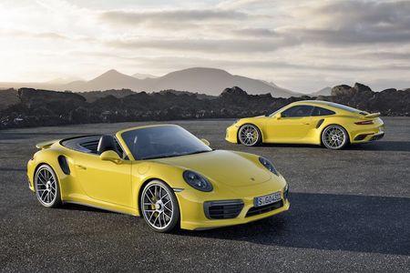 Sieu xe Porsche 911 Turbo ra mat phien ban moi - Anh 1