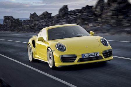 Sieu xe Porsche 911 Turbo ra mat phien ban moi - Anh 2
