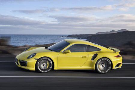 Sieu xe Porsche 911 Turbo ra mat phien ban moi - Anh 3