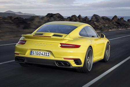 Sieu xe Porsche 911 Turbo ra mat phien ban moi - Anh 4