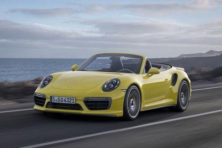 Sieu xe Porsche 911 Turbo ra mat phien ban moi - Anh 7
