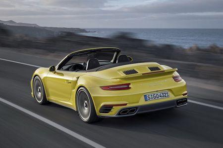 Sieu xe Porsche 911 Turbo ra mat phien ban moi - Anh 8