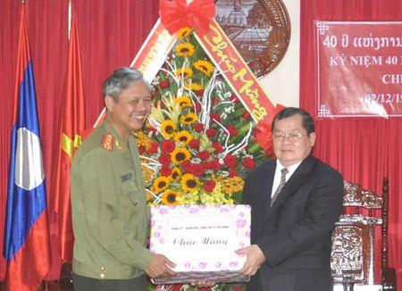 Chuc mung 40 nam Quoc khanh Lao - Anh 1