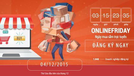 OnlineFriday 2015: 60.000 khuyen mai cua 2.000 doanh nghiep - Anh 1