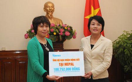 Quyen gop ung ho nan nhan dong dat o Nepal - Anh 1