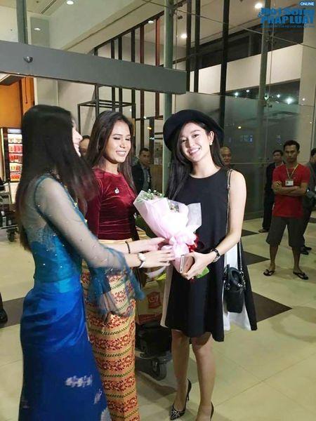 A hau Huyen My duoc san don khi sang Myanmar - Anh 5
