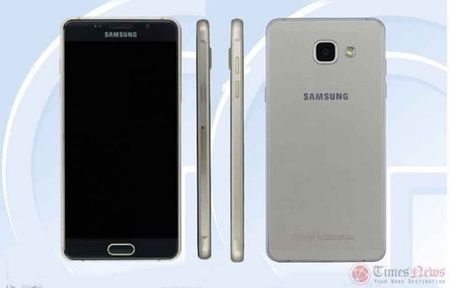 Samsung sap ra mat dien thoai Galaxy A5 phien ban 2016 - Anh 1