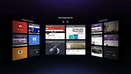Samsung Internet: Trinh duyet cho Gear VR, trai nghiem noi dung thuc te ao tren trinh duyet - Anh 2