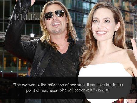 Nhung cau noi hay ve tinh yeu cua Brad Pitt – Angelina Jolie - Anh 3
