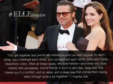 Nhung cau noi hay ve tinh yeu cua Brad Pitt – Angelina Jolie - Anh 4