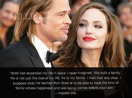 Nhung cau noi hay ve tinh yeu cua Brad Pitt – Angelina Jolie - Anh 7