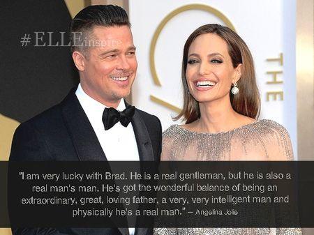 Nhung cau noi hay ve tinh yeu cua Brad Pitt – Angelina Jolie - Anh 9