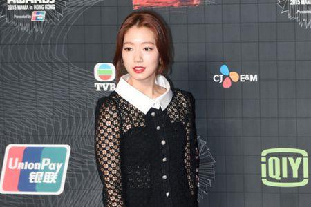 MAMA 2015: Park Shin Hye mat diem voi phong cach gia nua - Anh 1