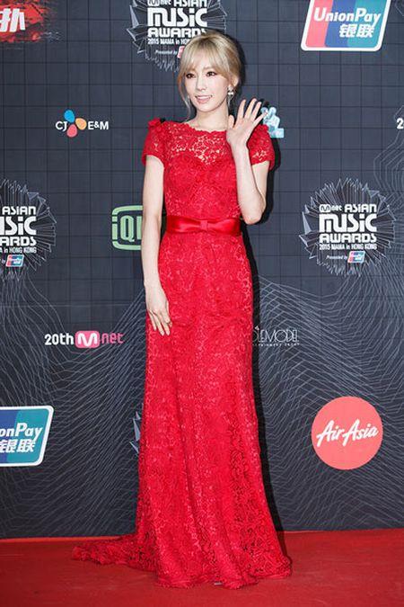 MAMA 2015: Park Shin Hye mat diem voi phong cach gia nua - Anh 5