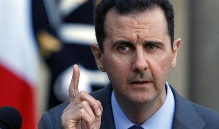 Tong thong Assad len mat - Anh 1
