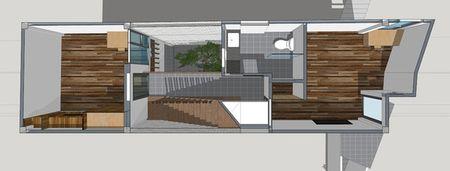 Trong cay to giua long nha ong 45 m2 o Ha Noi - Anh 11