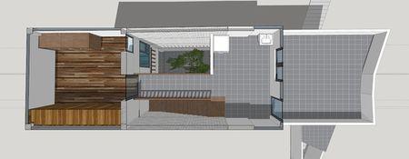 Trong cay to giua long nha ong 45 m2 o Ha Noi - Anh 12