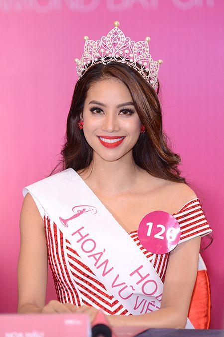 Top 10 Hoa hau Hoan Vu 2015 do sac, Pham Huong dung thu 2 - Anh 1
