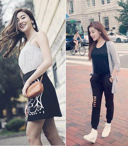 Style doi thuong tre trung, cuon hut cua A hau Huyen My - Anh 6