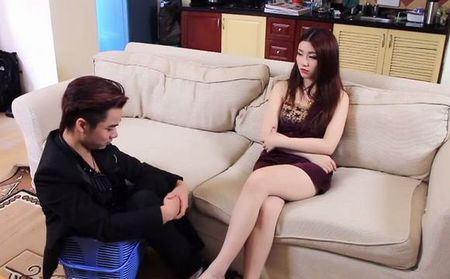 Hot girl Linh Miu ke chuyen tinh voi ban trai ngheo - Anh 4
