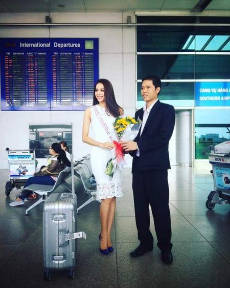 Hoa hau Pham Huong len duong du Hoa hau Hoan vu The gioi 2015 - Anh 3