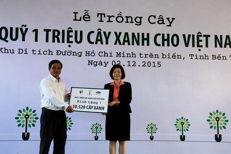 Vinamilk trong cay tai khu di tich duong Ho Chi Minh tren bien - Anh 3