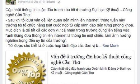 """Tam su cua vi giang vien len Facebook """"che"""" nha truong - Anh 1"""