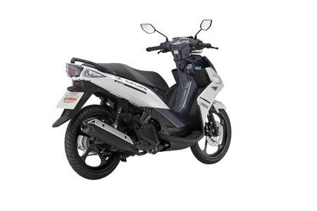 Dua voi Honda, Yamaha Viet Nam tung ra Nouvo Fi tem moi - Anh 9