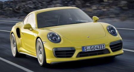 Cong bo phien ban nang cap Porsche 911 Turbo va Turbo S 2016 - Anh 1