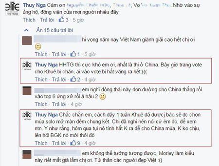 """Miss World 2015: Lan Khue dang bi """"choi xau""""? - Anh 2"""