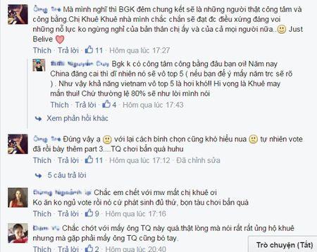 """Miss World 2015: Lan Khue dang bi """"choi xau""""? - Anh 4"""